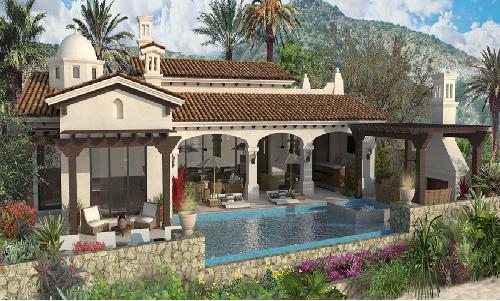 Rancho san lucas in los cabos mexico new construction hub for Case in stile ranch hacienda